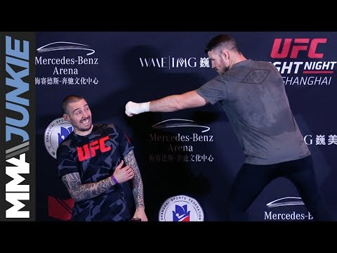 Michael Bisping shares his UFC-Shanghai gameplan, explains why he