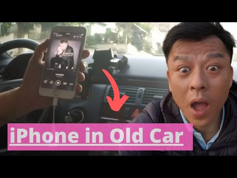 Connect iPhone 7 to older car factory radio