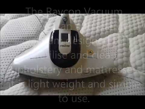 Anti allergy Mattress cleaning Melbourne: Raycop Vac Demo
