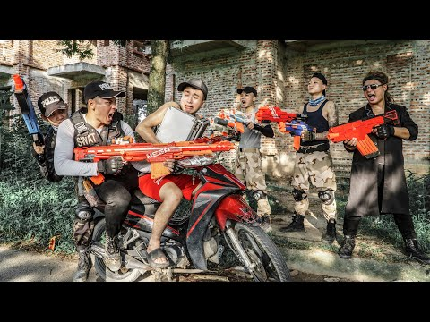 LTT Game Nerf War : Warriors SEAL X Nerf Guns Fight Rocket Crazy Breakthrough Detective Crime  