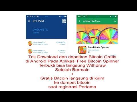 Trik Download Dan Dapatkan Bitcoin Gratis Di Android Pada Aplikasi Free Bitcoin Spinner Terbukti WD