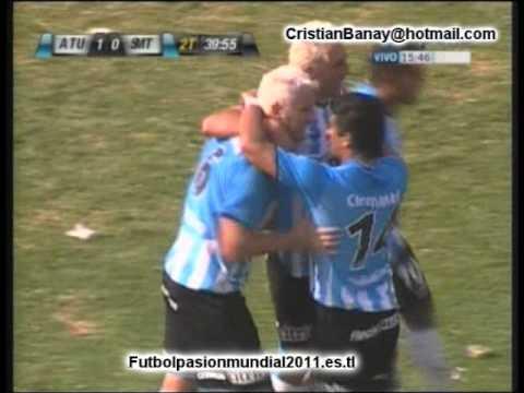 Atletico de Tucuman 1 San Martin T 0 Torneo Nacional B 2010-11 (El gol)