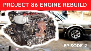 PROJECT 86 | ENGINE REBUILD | RESTORATION EPISODE 2