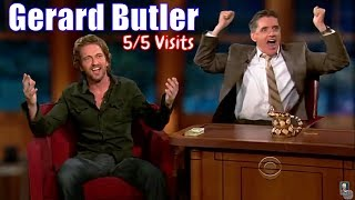 Gerard Butler - They Are Buddies - 5/5 Visits In Chronological Order [240-720]