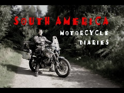 Spencer Conway - South America Motorcycle Pre Trip - Promo