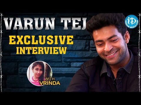 Varun Tej Exclusive Interview || Talking Movies With iDream # 28