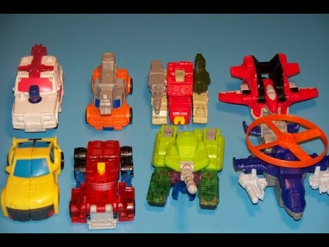2002 Transformers Armada Toy From Mcdonald's # 2 Hot Shot