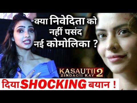 Kasauti's Nivedita aka Pooja is not happy with New Komolika 'Aamna Sharif'      CRAZY 4 TV Mp3