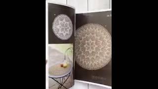 Вязание спицами салфеток по кругу
