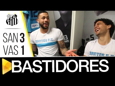 Santos 3 x 1 Vasco | BASTIDORES | Copa do Brasil (24/08/16)