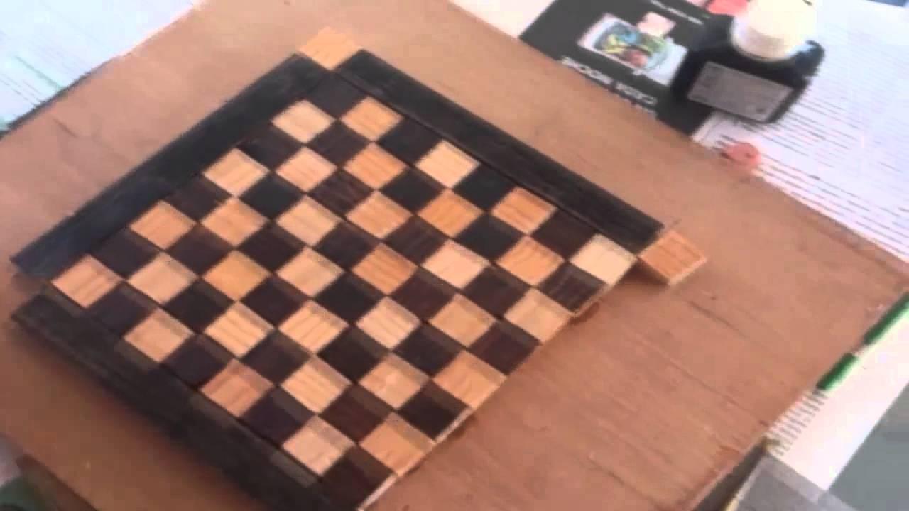 C mo hacer un ajedrez youtube for Como construir piletas de material