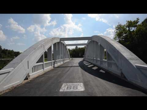 The Historic Route 66 RainBow Bridge, Baxter Springs Kansas~~~~