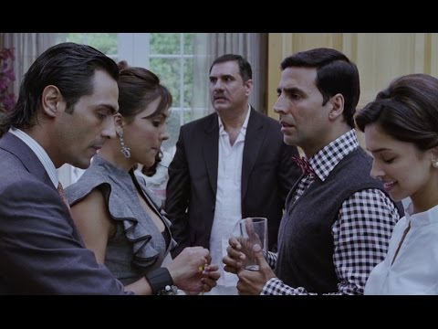 Akshay Kumar interrogate by Arjun Rampal