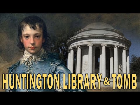 Exploring The Huntington Mausoleum + Library, Art Museum, And Gardens