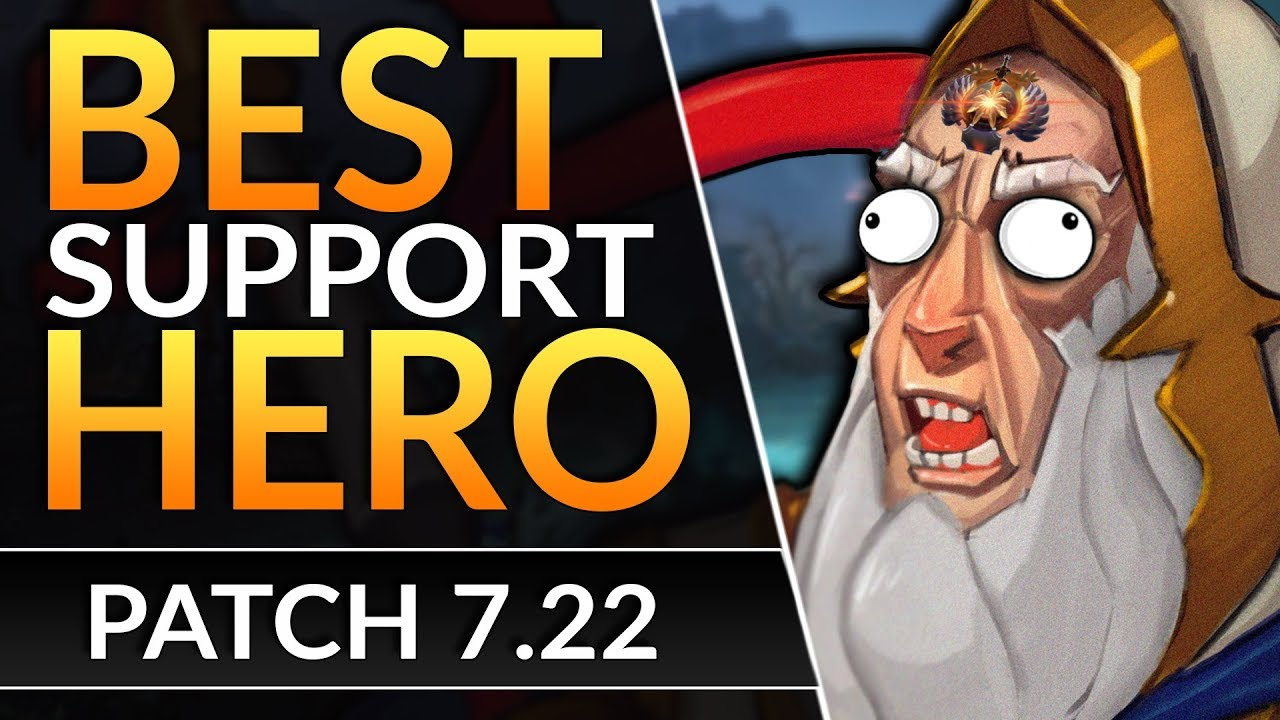 The Most BROKEN SUPPORT of 7.22 TO RANK UP FAST and Carry | Dota 2 Keeper of the Light Guide
