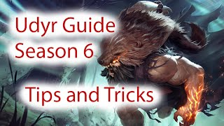 Udyr Jungle Guide {Phoenix} Season 6