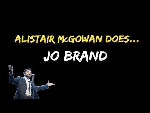 Alistair McGowan does... Jo Brand