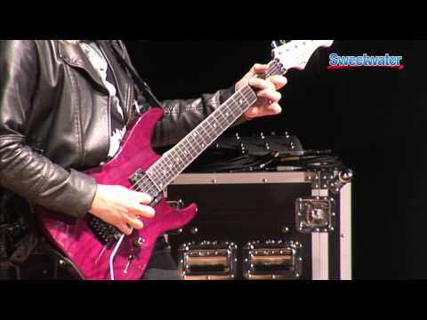 BOSS ME-80 Guitar Multi-FX Processor Pedal Demo - Sweetwater Sound