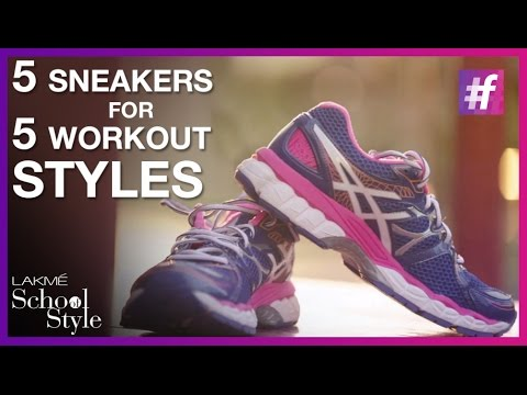 8784f9faef2 5 Best Workout Shoes For Women | #fame School Of Style