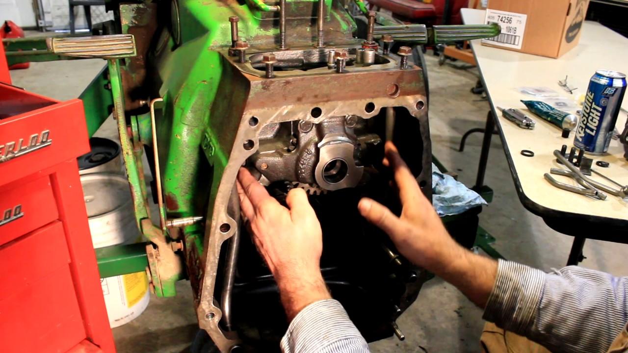 hight resolution of john deere 2440 hi lo pto transmission oil lines installation