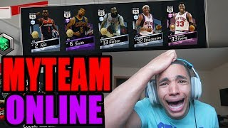 OUR GREATEST TEST! NBA 2K17 MYTEAM ONLINE #16