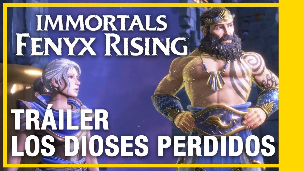Immortals Fenyx Rising - Los Dioses Perdidos DLC 3 | Tráiler | Ubisoft LATAM