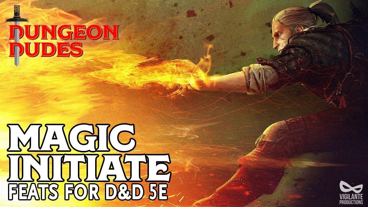 Magic Initiate - Feats in D&D 5e