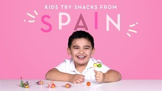 Kids Try Snacks from Spain | Kids Try | HiHo Kids