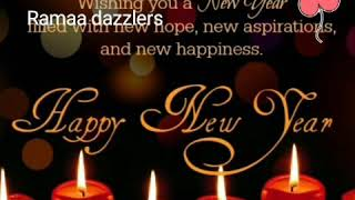 Wish you A Very Happy New Year 2020 for friends and family 🍫💖🌺🎂🥞🌸💕