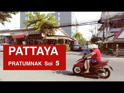 PATTAYA Pratumnak soi 5 on December 2020, Very quiet on High season   #pattaya #pratumnak  #thailand