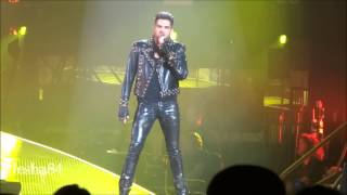 Queen ft. Adam Lambert - Fat Bottomed Girls - New York City, NY 7/17/14