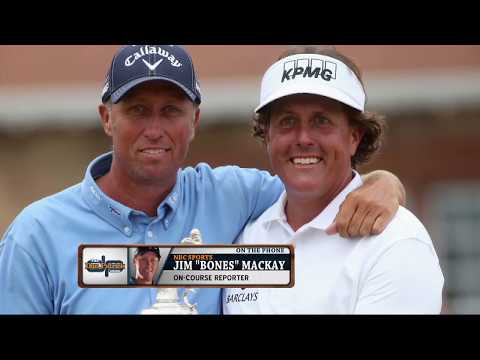 "Former Phil Mickelson Caddie Jim ""Bones"" Mackay on The Dan Patrick Show 