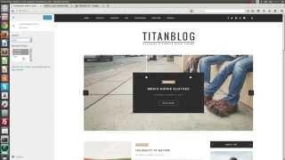 Page Template - Titan WordPress Blog Theme