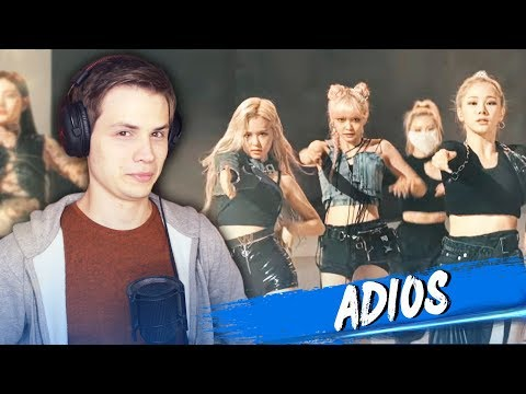 EVERGLOW - Adios (MV) РЕАКЦИЯ