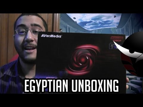 Sk Productions - Egyptian Unboxing and Preview ,Aver Media Live Gamer HD