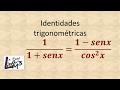 Identidades trigonométricas | Ejercicio 3 | La Prof Lina M3