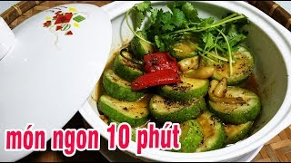 Bầu Kho - Cách Làm BẦU KHO TIÊU Cực Ngon TRONG 10 PHÚT l Cô Hai Nhỏ Sài Gòn - travel to vietnam