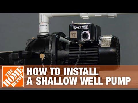 Shallow Well Pump | Everbilt Jet Well Pump Installation | The Home Depot -  YouTubeYouTube