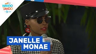 Janelle Monáe Discusses Fan Reaction To Dirty Computer at KIIS FM
