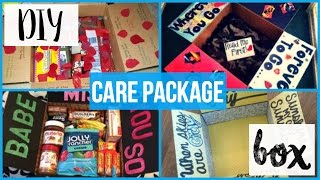 DIY Care Package Box
