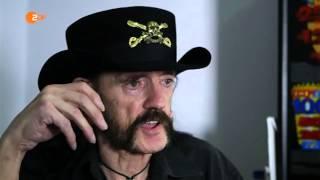 Lemmy Kilmister Motörhead last Interview in german TV ZDF 2015-11-20 720p English Part 2 of 2