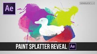 After Effects Tutorial: Paint Splatter Logo Reveal