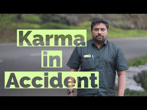 Karma in Accident by DINDIGUL P CHINNARAJ ASTROLOGER INDIA