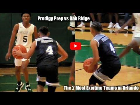 Julian Newman Drops 24 Points In HOSTILE GYM! Prodigy Prep VS Oak Ridge