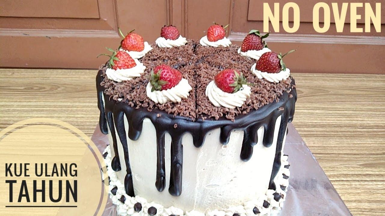 Resep Blackforest Sederhana Kue Ulang Tahun No Oven