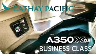 Cathay Pacific Airbus A350 XWB Business Class Singapore to Bangkok Review