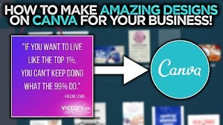 How to Make Designs on Canva for Your Online Business in 2019
