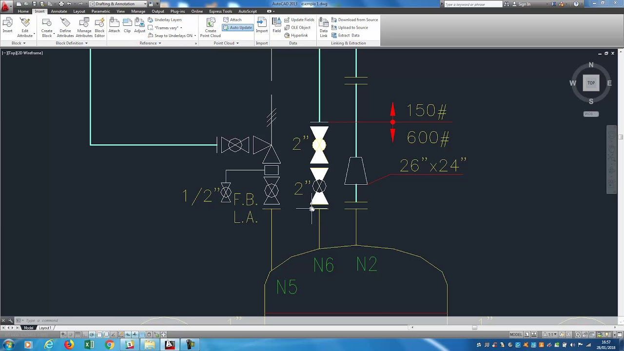 tutorial pid piping and instrumentation diagram schemi di processo  [ 1280 x 720 Pixel ]