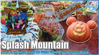 Splash Mountain onride HD POV Walt Disney World
