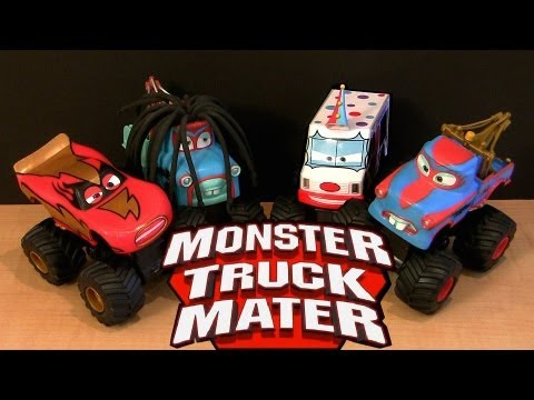 Power Punch Monster Truck Rasta Mater I Screamer Tormentor